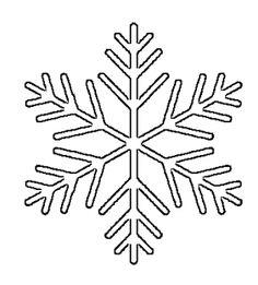 Drawn snowflake small Vinyl Large Decal Patterns –