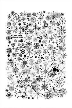 Drawn snowflake small Snow snowflake students time collaborative