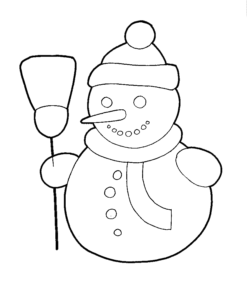Drawn snowman Snowman Pages 006 08 Draw