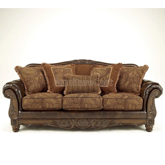 Drawn sofa antic Antique DuraBlend sofa World Style