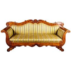 Drawn sofa antic Century 19th Sofas 1stdibs Carved