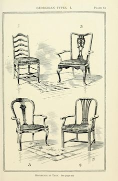 Drawn sofa antique The backs Here Style chair