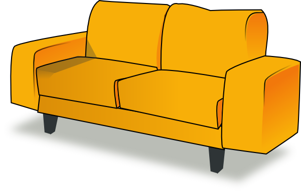 Drawn sofa cartoon Clker as: at online Download