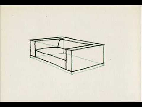 Drawn sofa cartoon A a draw How How