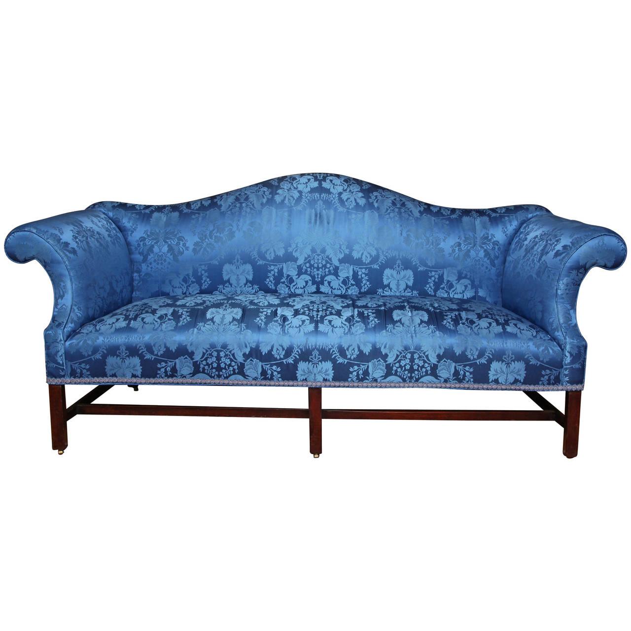 Drawn sofa cleopatra style Camelback Camelback 19th Century 19th