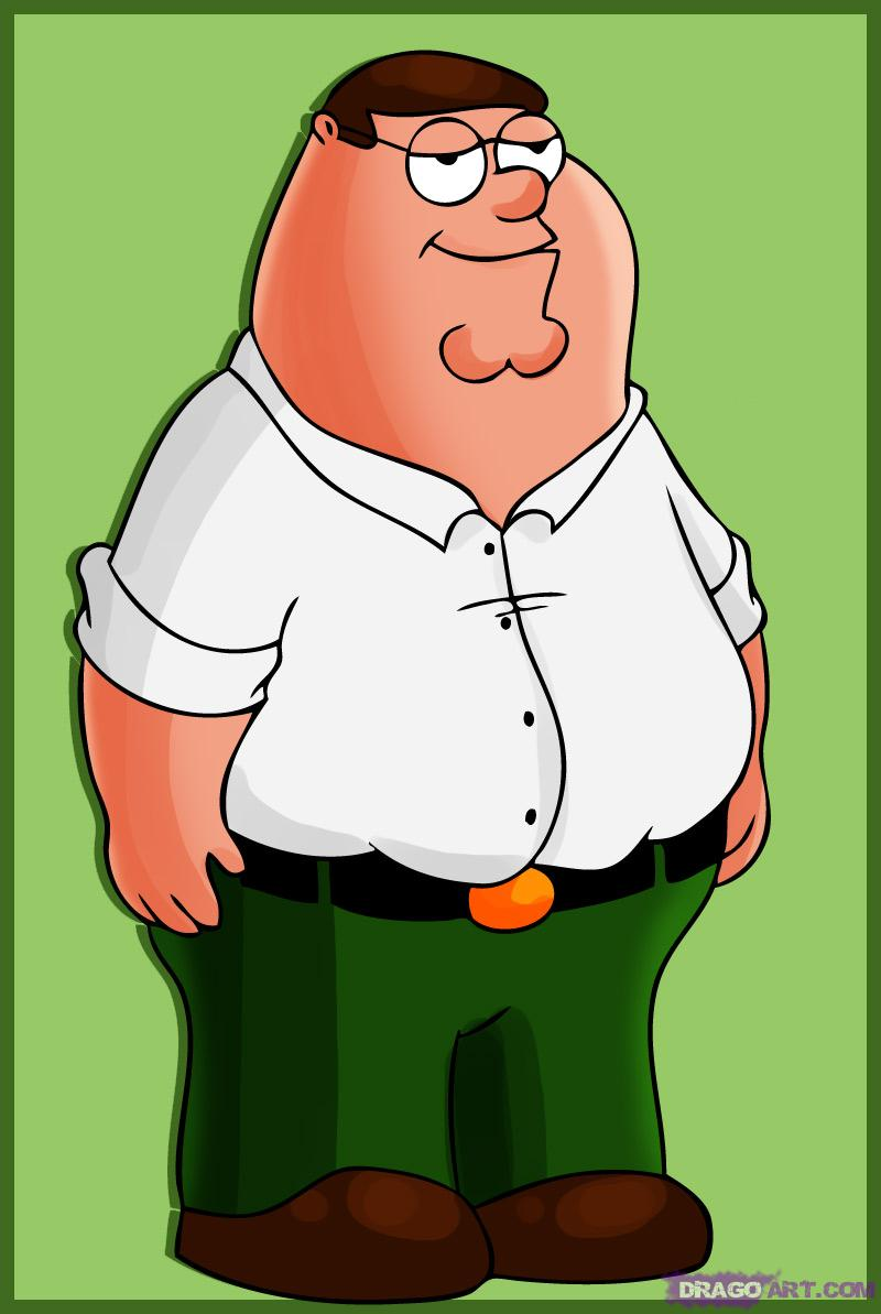 Drawn sofa family guy Griffin draw to Peter guy