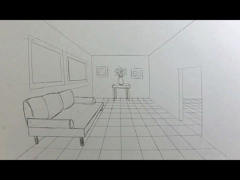 Drawn room 1 pt Room PERSPECTIVE Draw  Draw