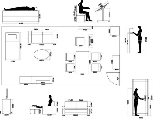 Drawn sofa plan elevation With Picture I of Picture