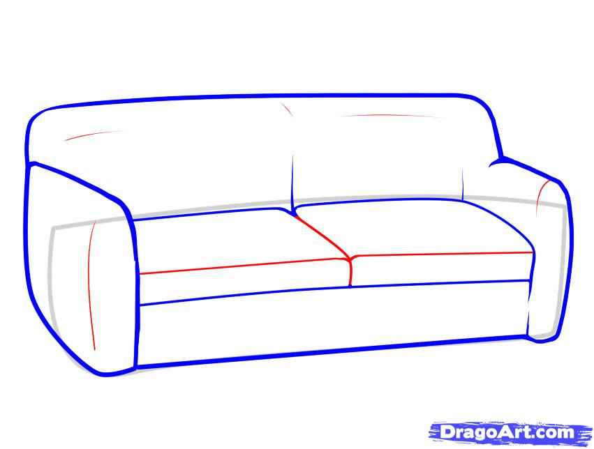 Drawn couch Stuff Culture by how Step