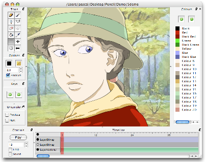Drawn software Animation software Pencil and