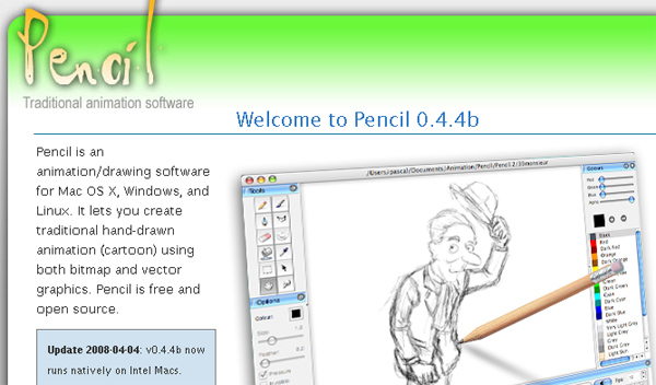 Drawn software » Software Open  and