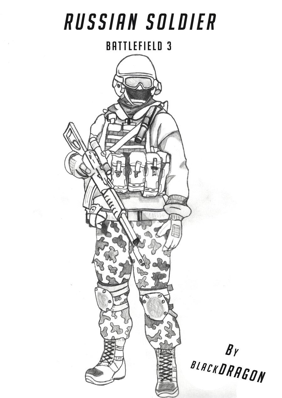 Drawn soldier By Russian DeviantArt soldier soldier