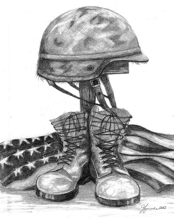 Drawn soldier Drawing Realistic Art Image Soldier