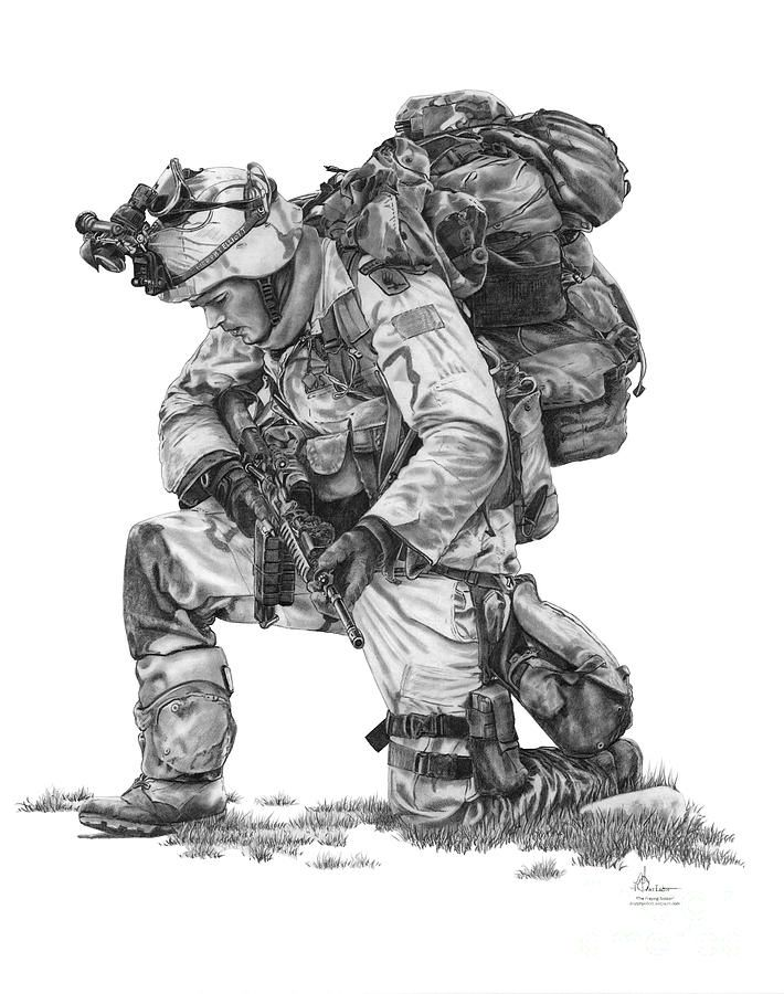Drawn wars army Soldier Best 25+ Soldier Praying