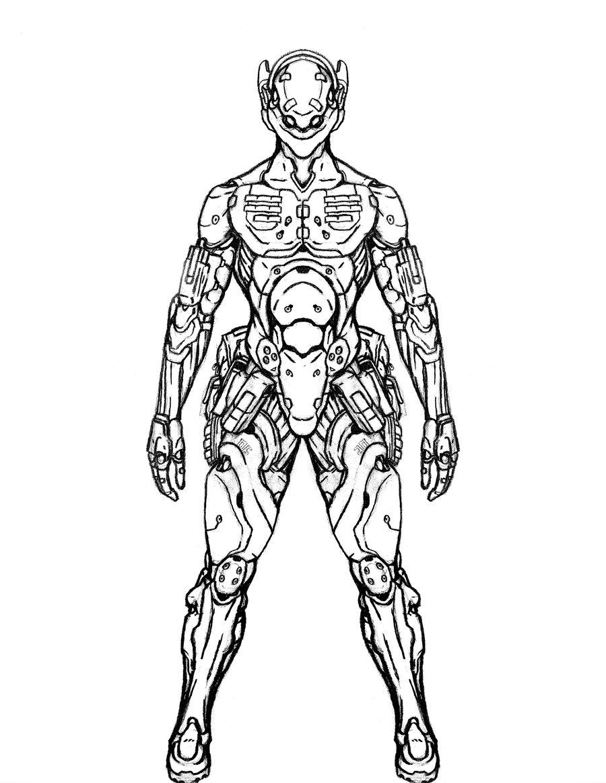 Drawn soldier futuristic Futuristic soldier Picture Future Soldier