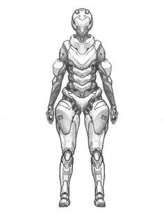 Drawn soldier futuristic Futuristic <b>soldier</b> Vablo <b>future</b> Soldiers