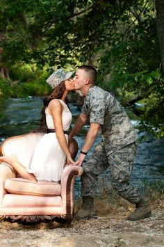 Drawn soldier romantic Female a something So Female