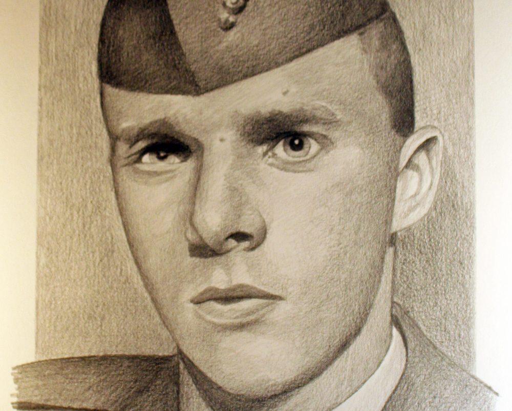Drawn portrait unique Drawing still Reagan Michael Santaniello