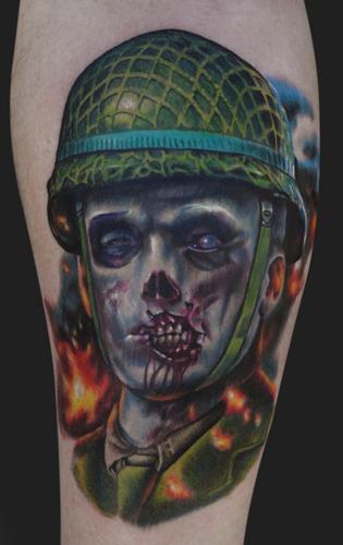 Drawn skull us army Beautiful Us Tattoo That Army