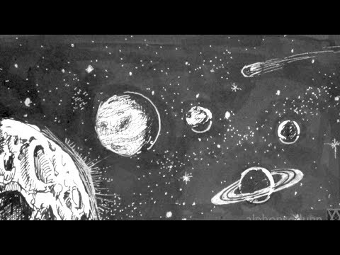 Drawn planets Space How Tutorials Tutorials Drawing