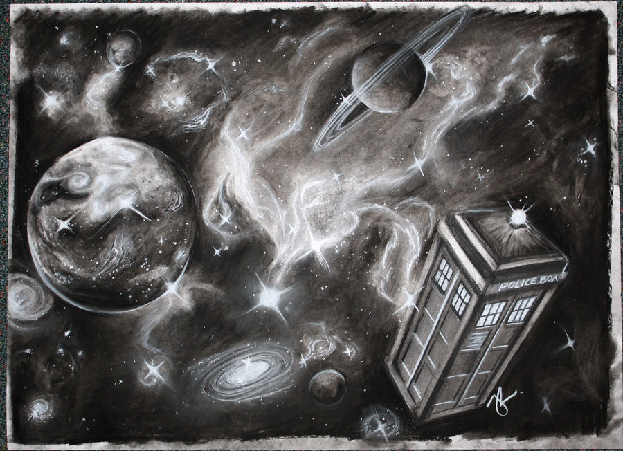 Drawn space art space DeviantArt in Doctor by jacqui
