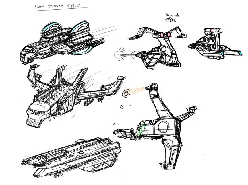 Drawn spaceship nasa Drawing 2011 Neat: June Thursday