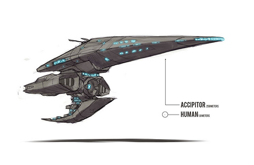 Drawn spaceship Accipitor The Parker Blog Mr