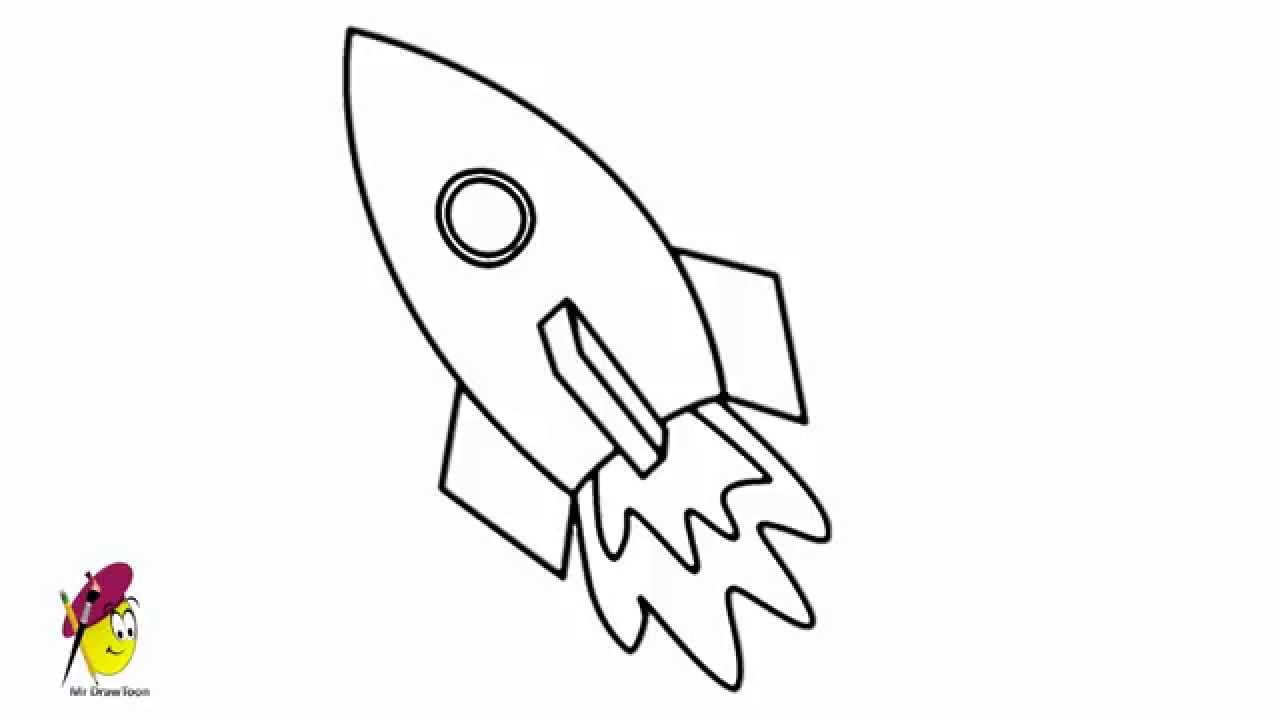 Drawn spaceship Space Ship draw Space how
