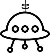 Drawn spaceship alien A draw spaceship Spaceship 3