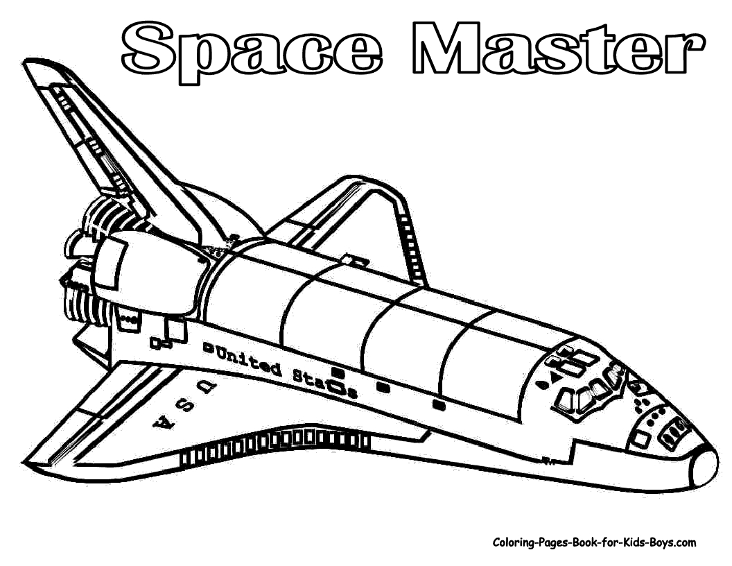 Drawn spaceship coloring page Ship coloring spaceship coloring printable