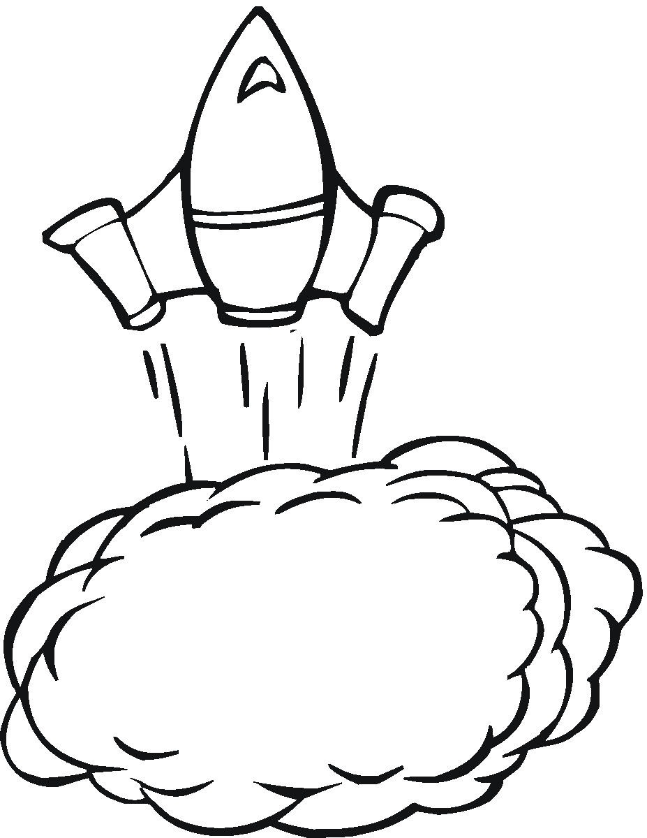 Drawn spaceship coloring page  Alien Coloring Pages Coloring
