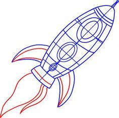 Drawn spaceship despicable me By Draw How to a