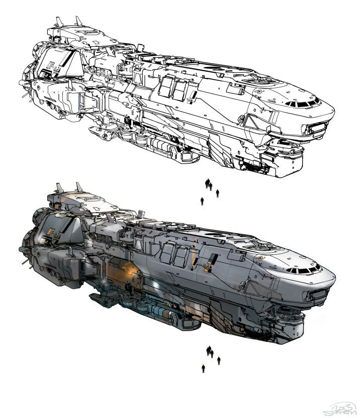 Drawn spaceship junker This Best and images more