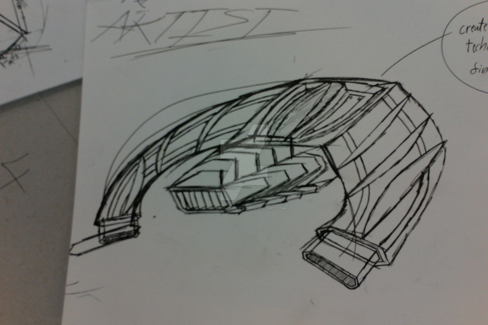 Drawn spaceship junker SilverJackdaw782 Junker Spaceship Spaceship Interceptor
