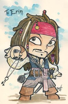 Drawn sparrow animated For Jack Baby Sparrow art