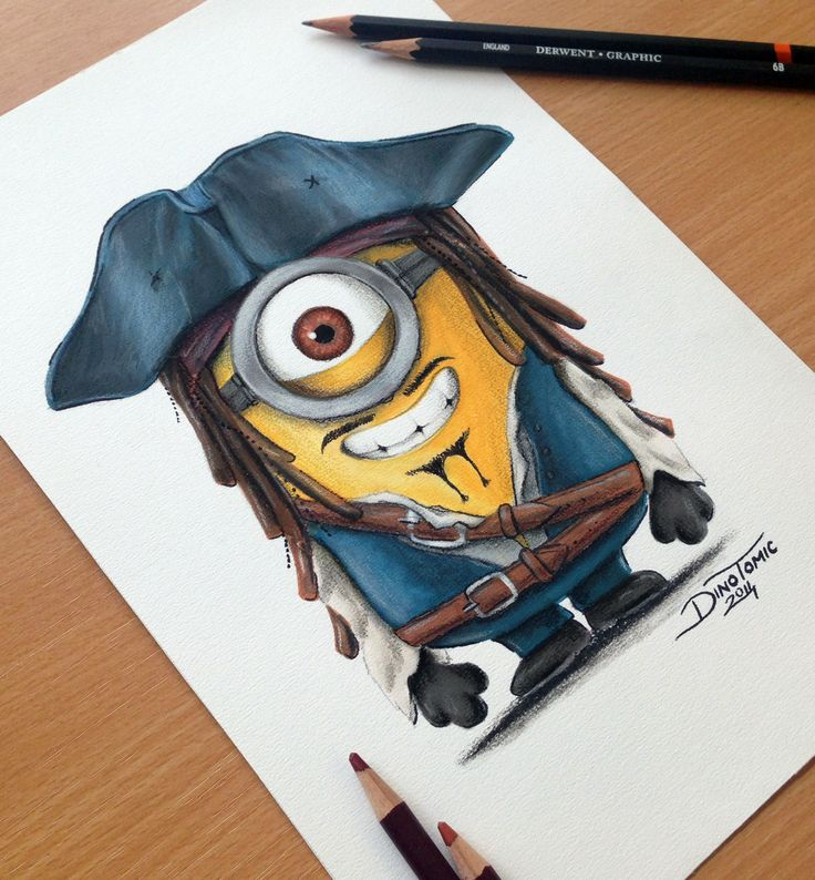 Drawn sparrow color On Minion AtomiccircuS Captain by