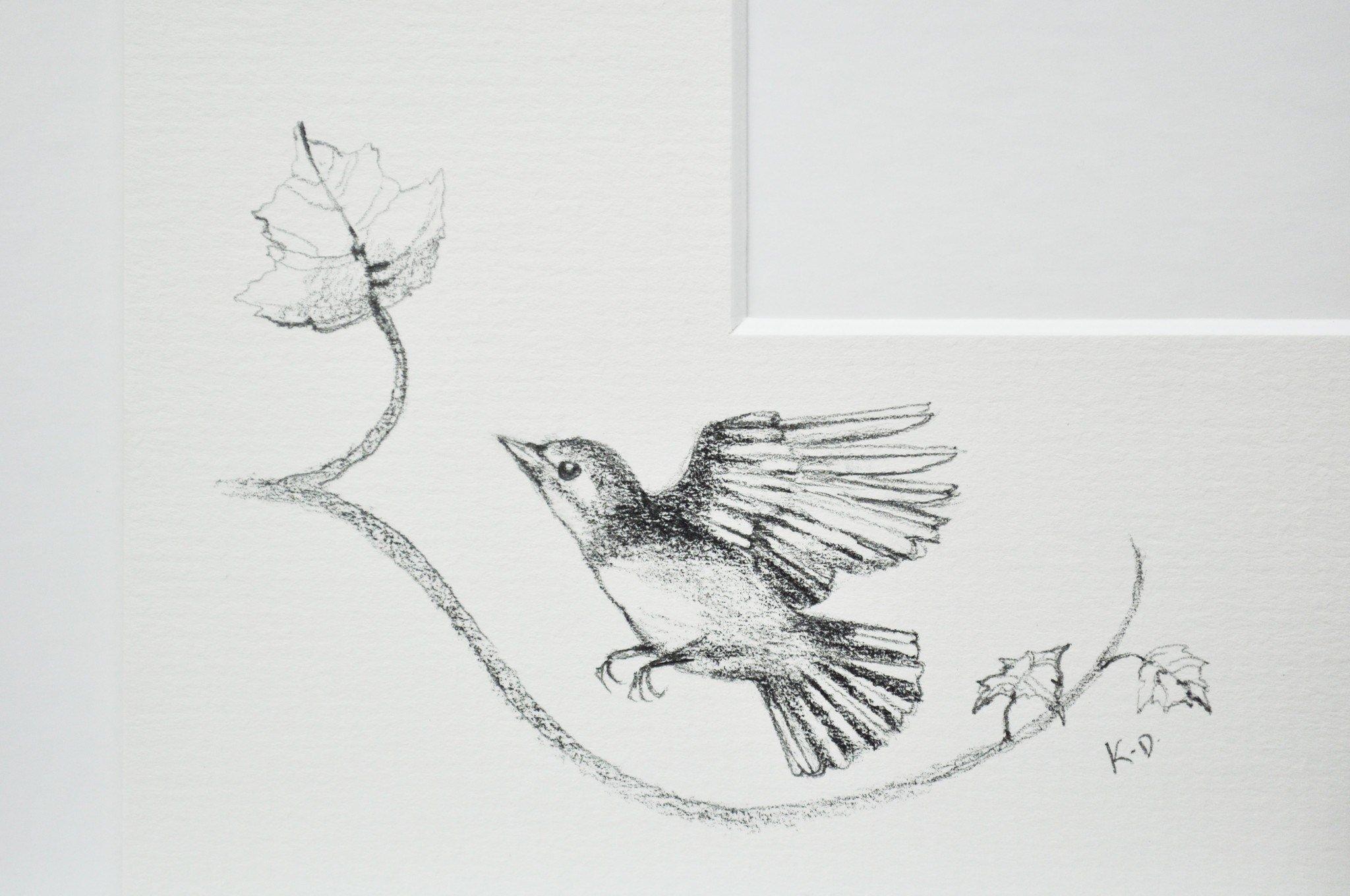 Drawn sparrow tree spirit Tree Tree Darlington Edition Little