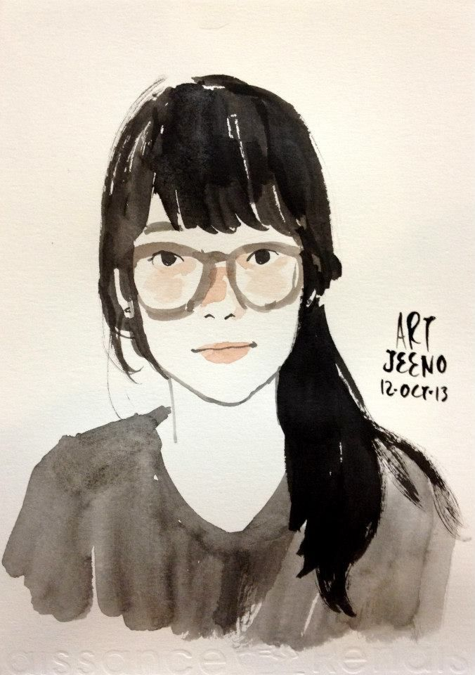 Drawn spectacles bowl Pinterest #admire Girls on Summer