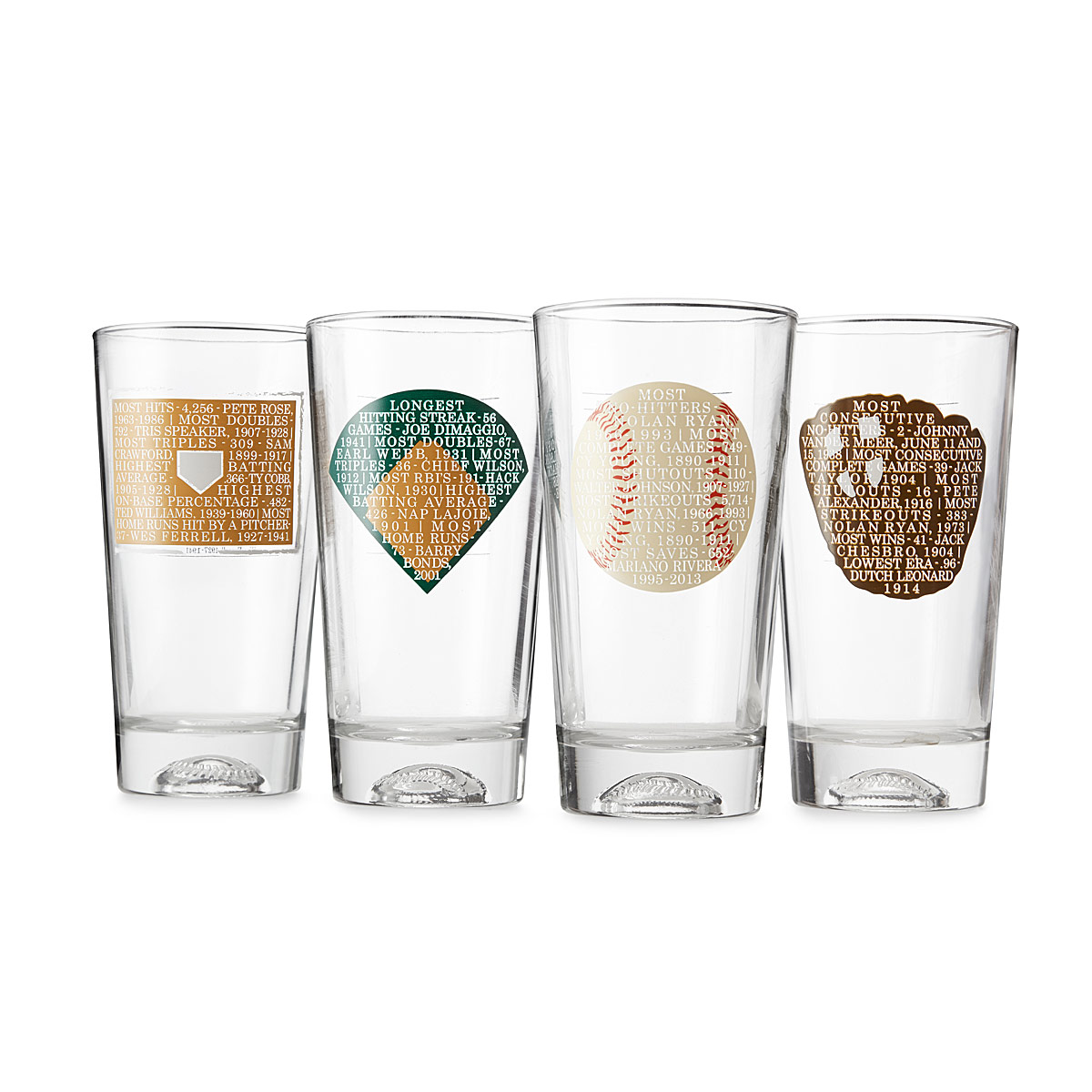 Drawn spectacles drinking glass Breaking Tumbler Sets of Colored