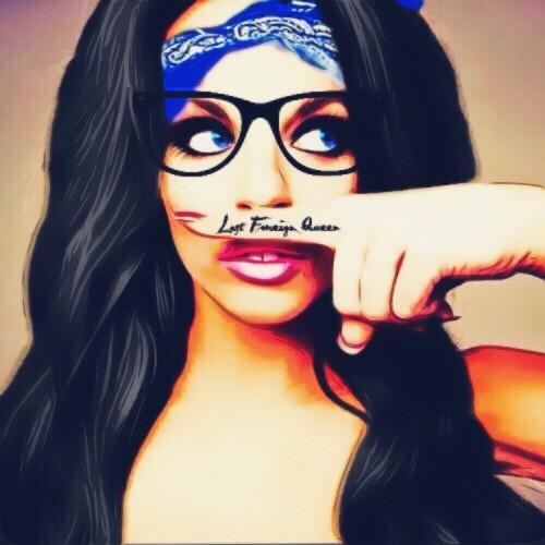Drawn spectacles geek #bandana blueeyes #art #drawing #drawing