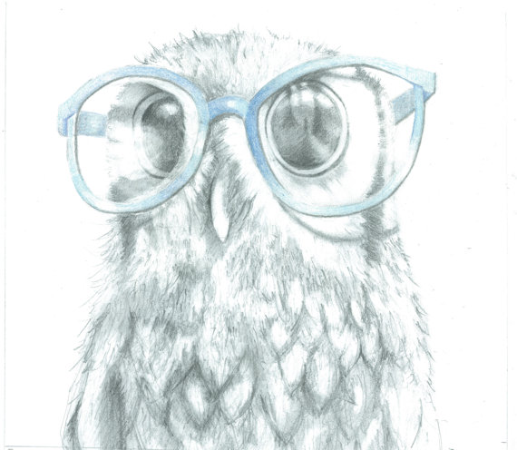 Drawn spectacles