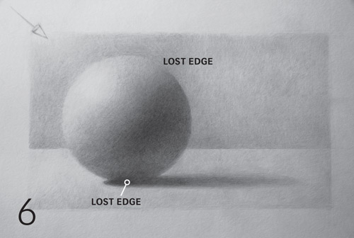 Drawn spheric Draw Step sphere realistic how