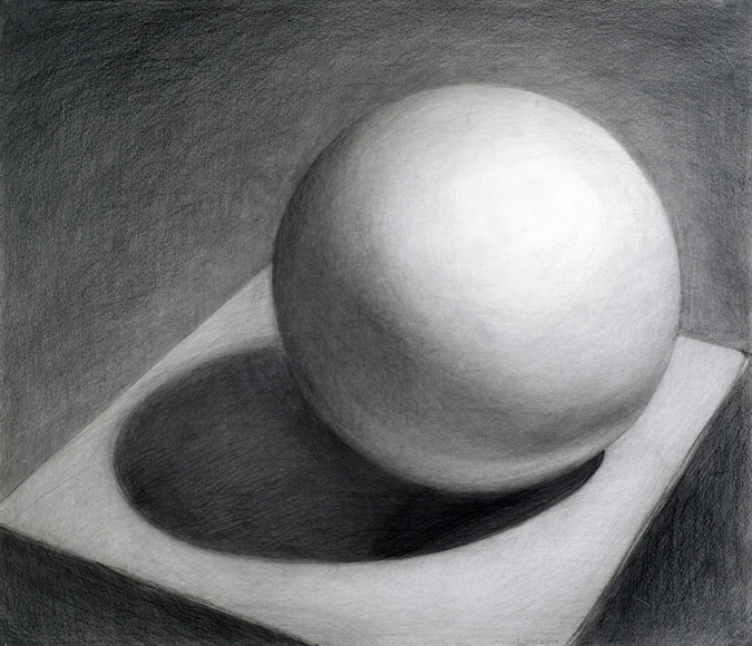 Drawn sphere CBU Example Beginning affecting of