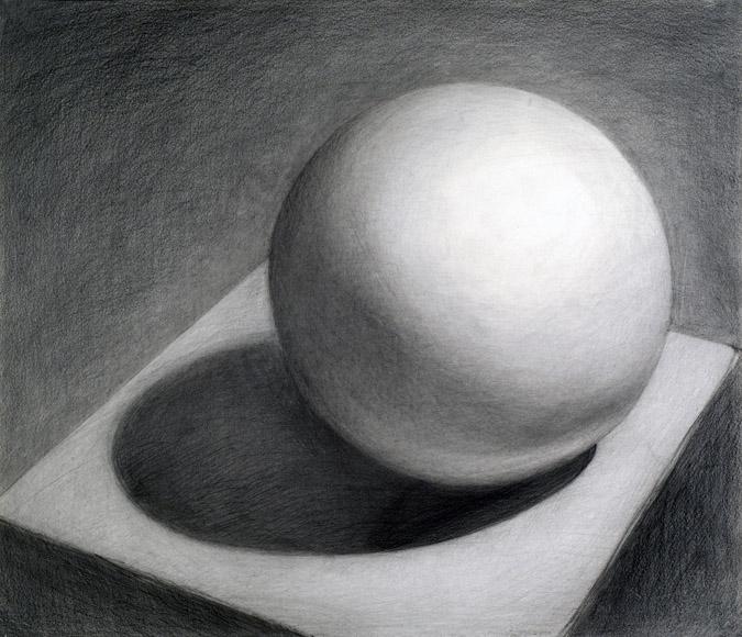 Drawn sphere #15