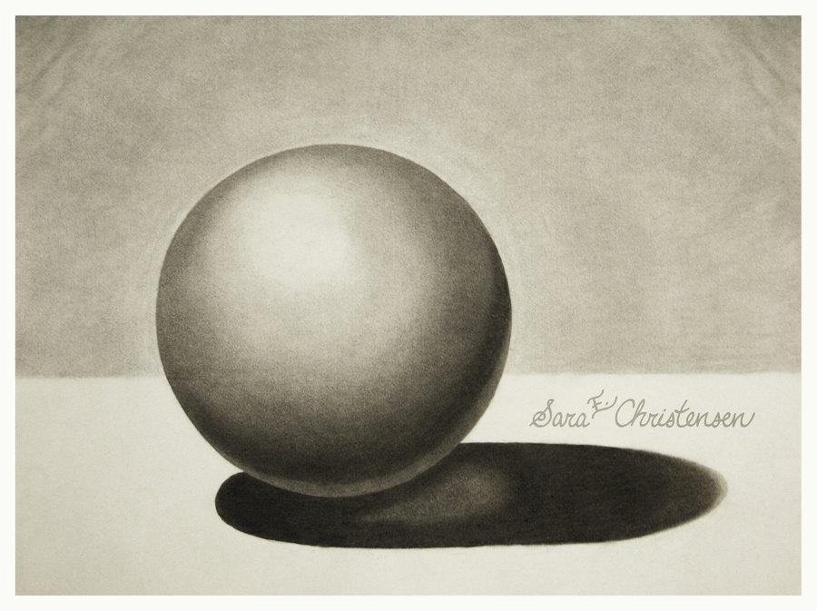 Drawn spheric Charcoal on by DeviantArt SaraChristensen
