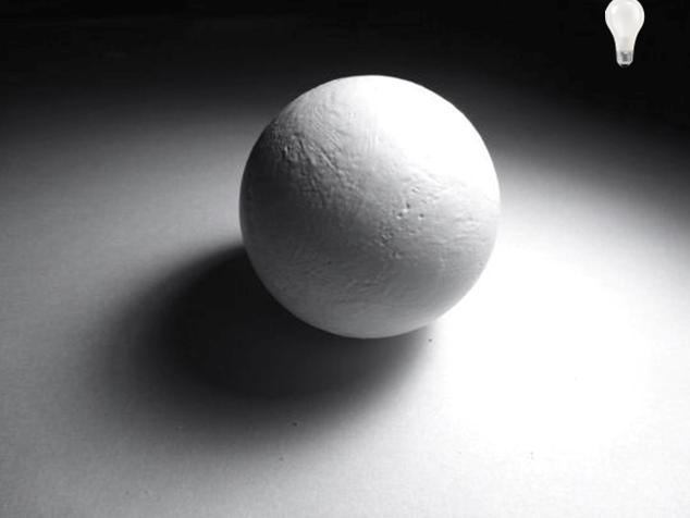 Drawn sphere light on Sphere Draw How ArtTutor To