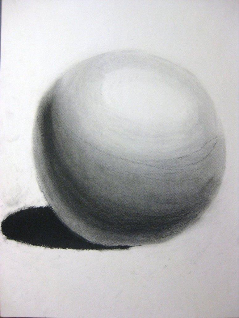 Drawn sphere charcoal Sensei DeviantArt on Yoruichi by