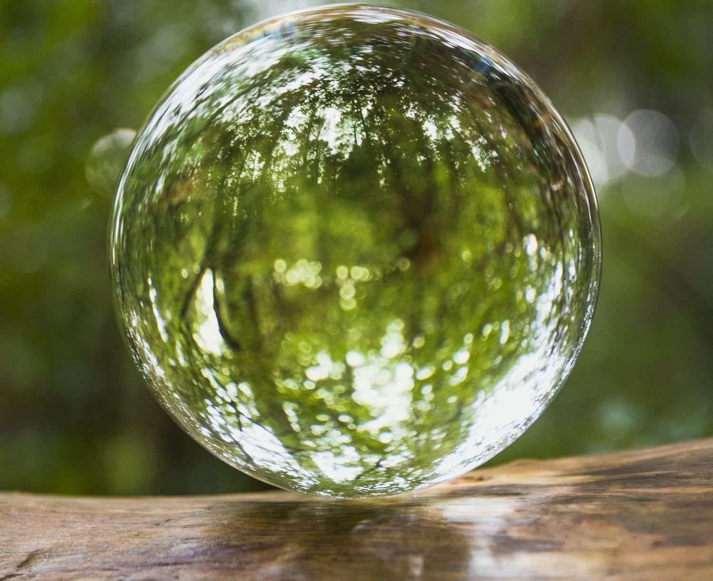 Drawn spheric crystal ball 6 What Crystal Crystal Shui