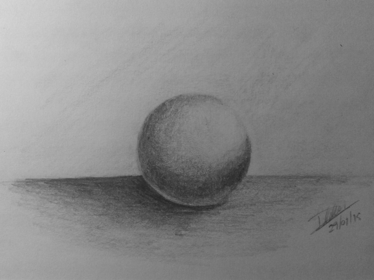 Drawn still life basketball So YouTube Shading exercise much