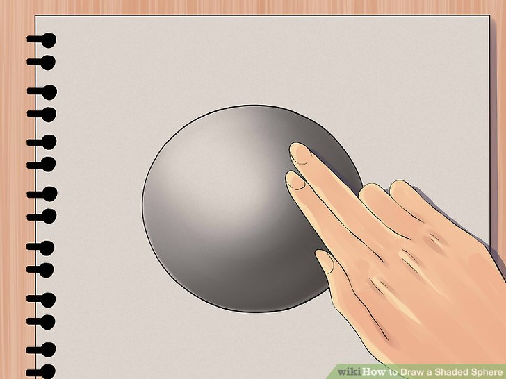 Drawn spheric easy Draw Image Sphere Step wikiHow